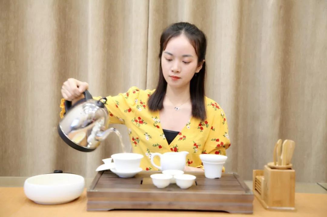 美音茶艺课