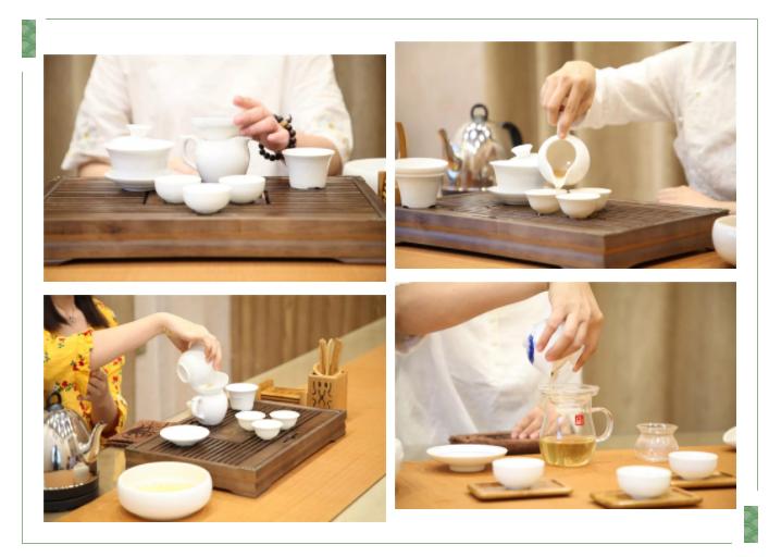 茶艺毕业展手法
